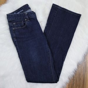 LOFT Original Bootcut Dark Stretch Jean 2